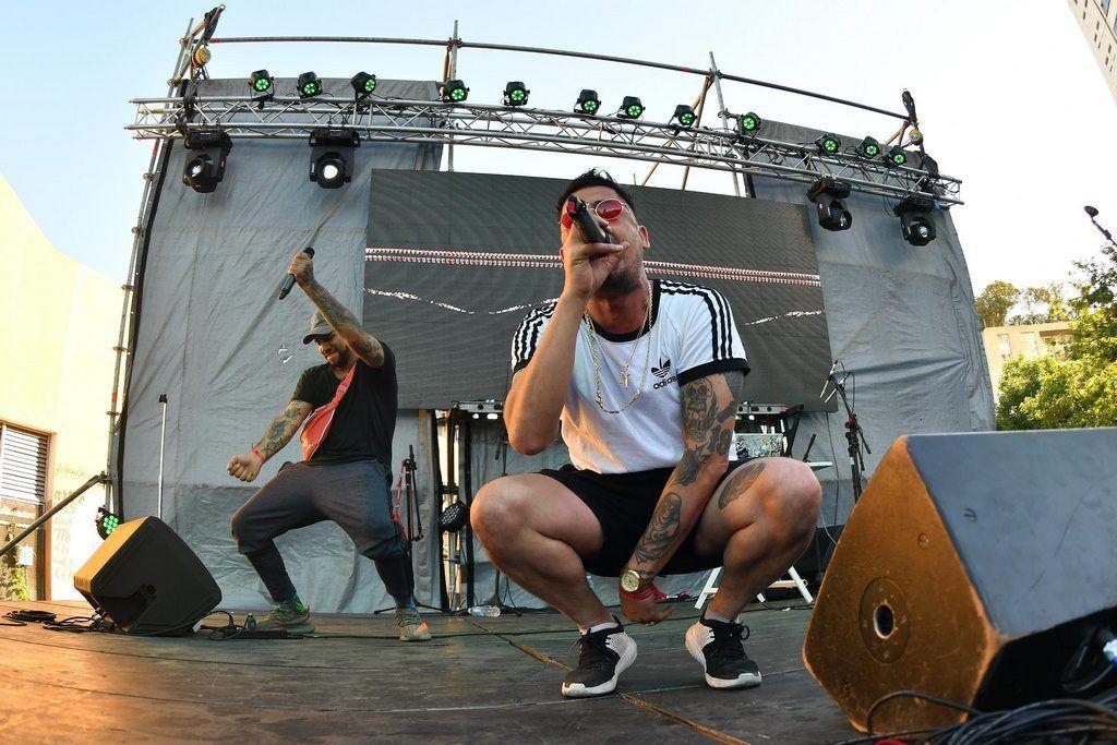 Marciano Crew en el escenario principal de Festival Al Dente Vol. 6