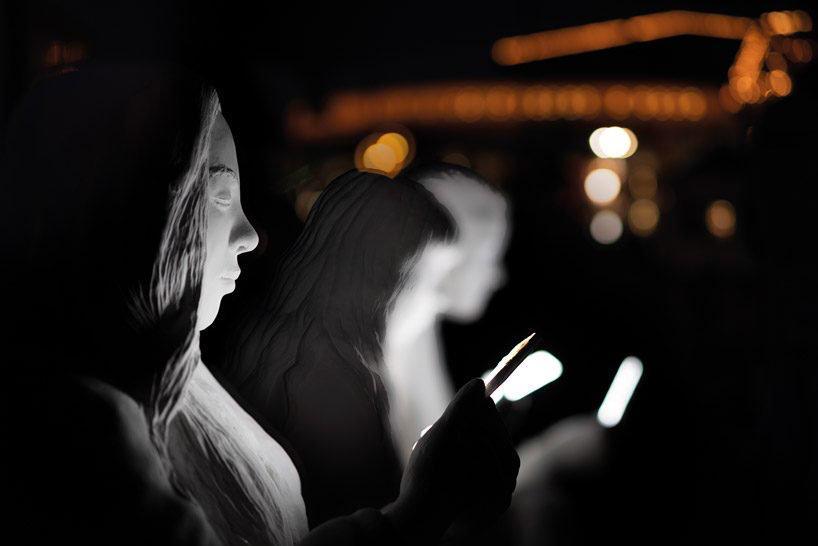 absorbed by light' adicción smartphone amsterdam light festival 2018 loqueva (2)