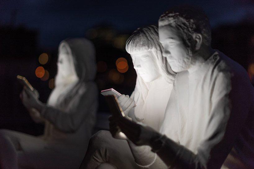 absorbed by light' adicción smartphone amsterdam light festival 2018 loqueva (3)