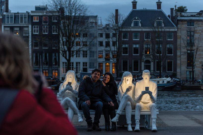 absorbed by light' adicción smartphone amsterdam light festival 2018 loqueva (6)