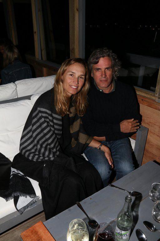 Bárbara Durand y Gian Dolce disfrutaron de una comida en Fabric Sushi Punta del Este