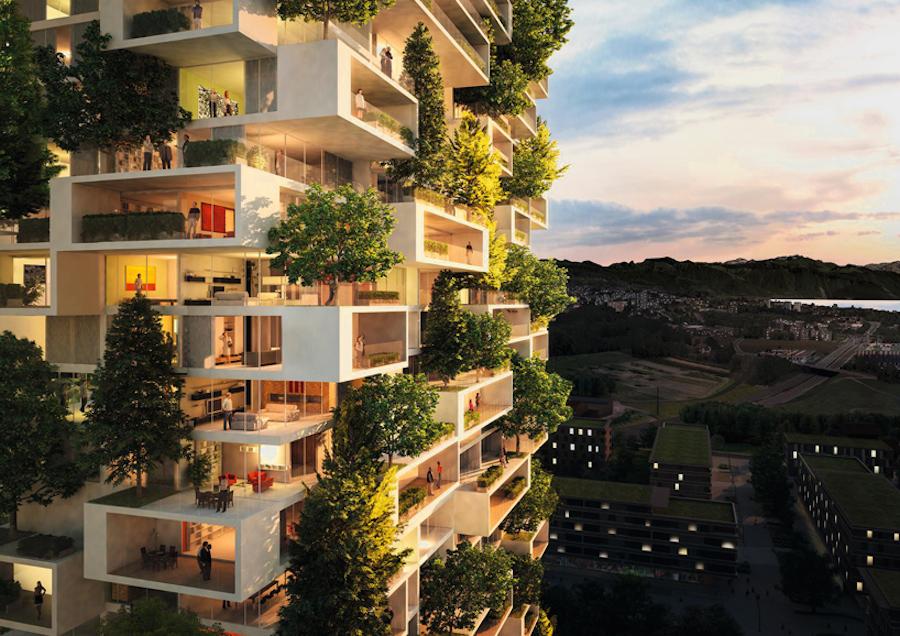 El increíble Bosque vertical de Milán