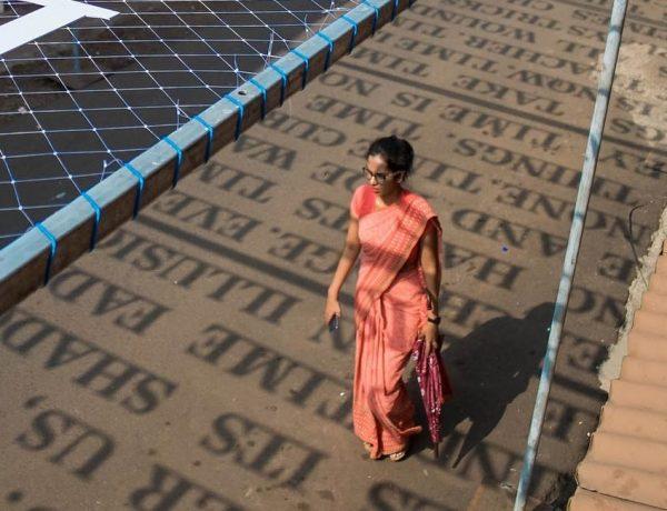 Instalaciones de Street art que cambian con la luz del sol home