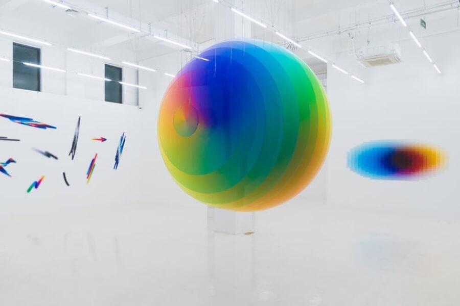 Nueva exposición del argentino Felipe Pantone en Shanghai (1)