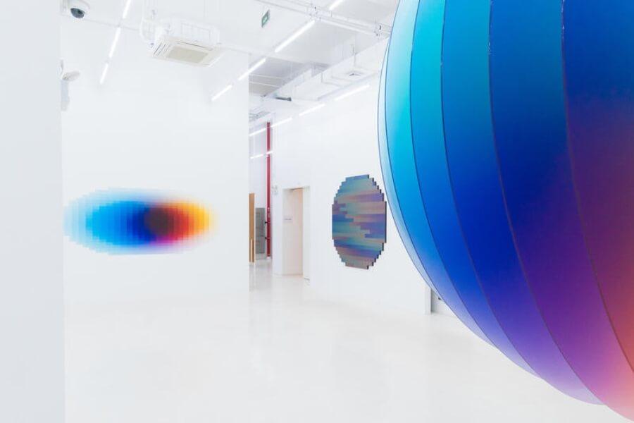Nueva exposición del argentino Felipe Pantone en Shanghai (2)
