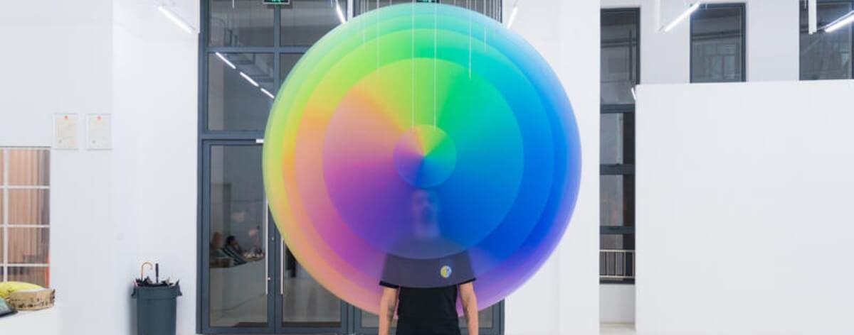 Nueva exposición del argentino Felipe Pantone en Shanghai (5)