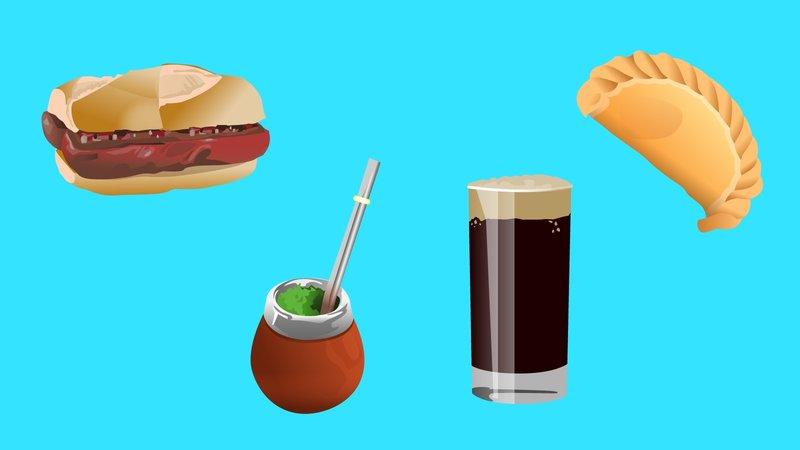 Argentina también propueso emoji de Fernet, chori y empanada