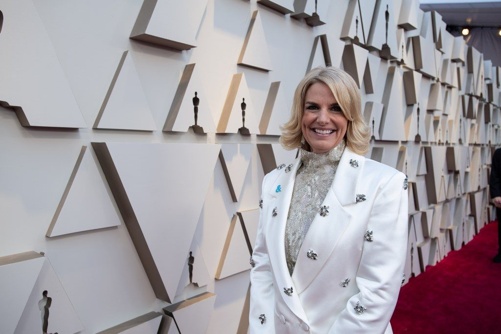 Sarah Kate Ellis arrives on the red carpet of The 91st Oscars® at the Dolby® Theatre in Hollywood, CA on Sunday, February 24, 2019.