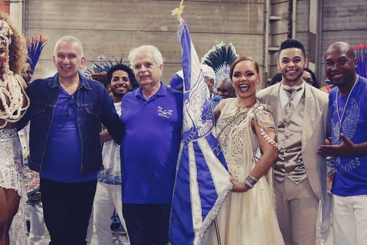 Jean Paul Gaultier llega al Carnaval de Río con Jimena Barón (1)