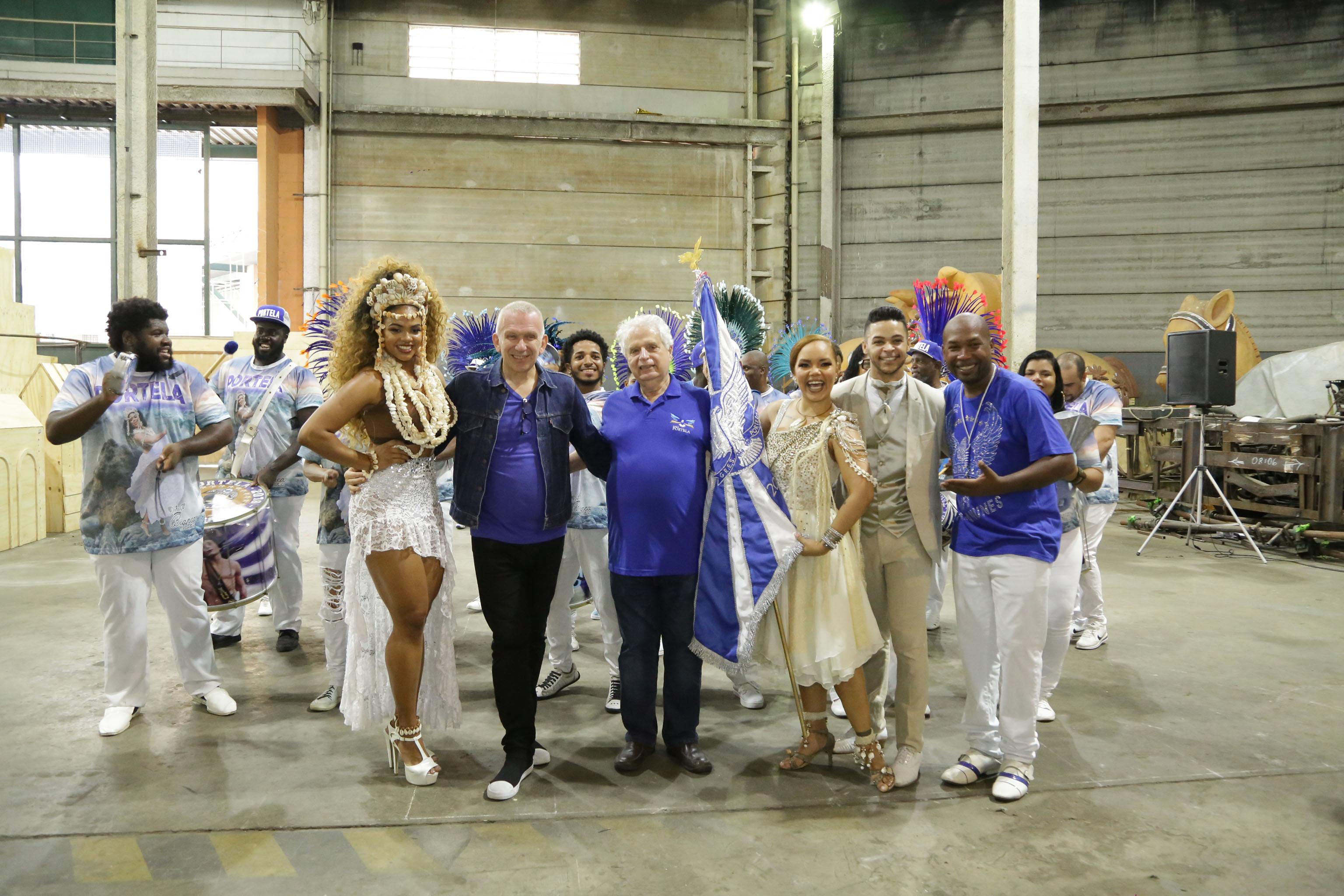 Jean Paul Gaultier Teams With Samba School for Rio Carnival