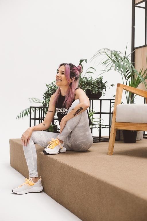 Lucia Franzé - Influencer Reebok Argentina