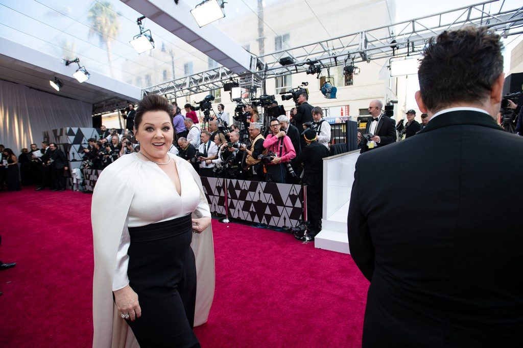Melissa McCarthy, Oscar® nominee, arrives on the red carpet of The 91st Oscars® at the Dolby® Theatre in Hollywood, CA on Sunday, February 24, 2019.