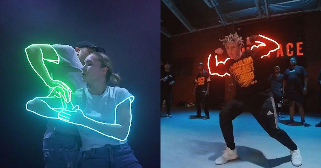 coreagrafias de neon -after-effects-blotter-media-ofir-shoham loqueva
