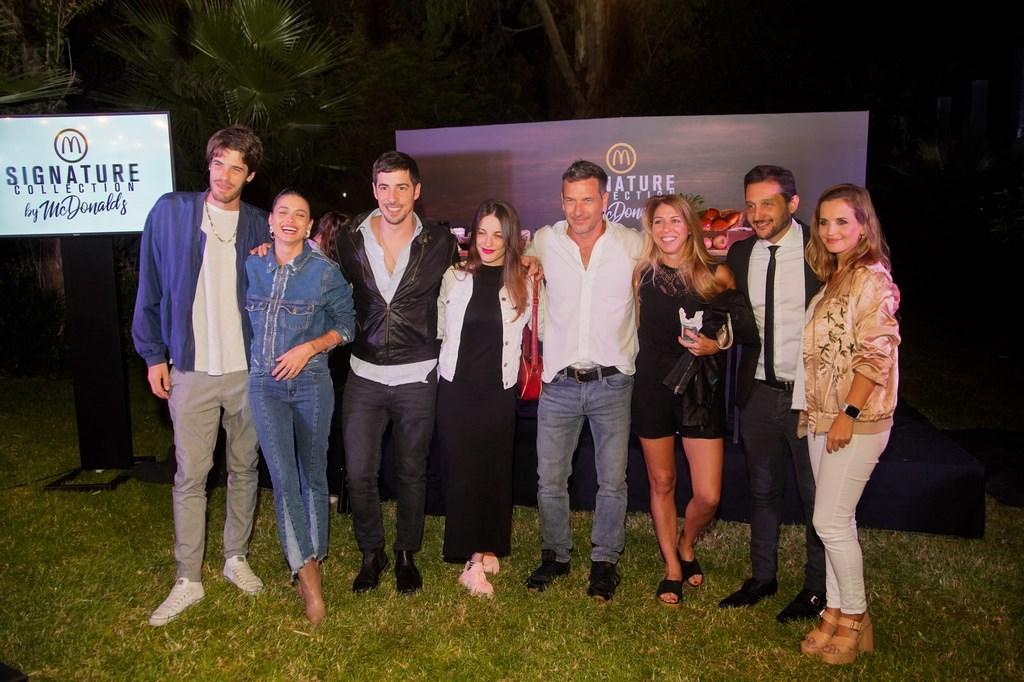 Manu Desrets, Vito Saravia, Esteban Lamothe, Katia, Amador, Bertotti, Paoloski y Garciarena