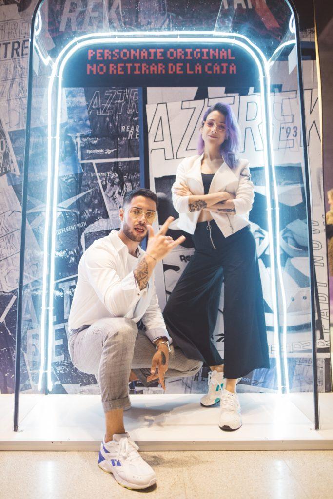 Valentin Cruccianelli y Lucia Franze