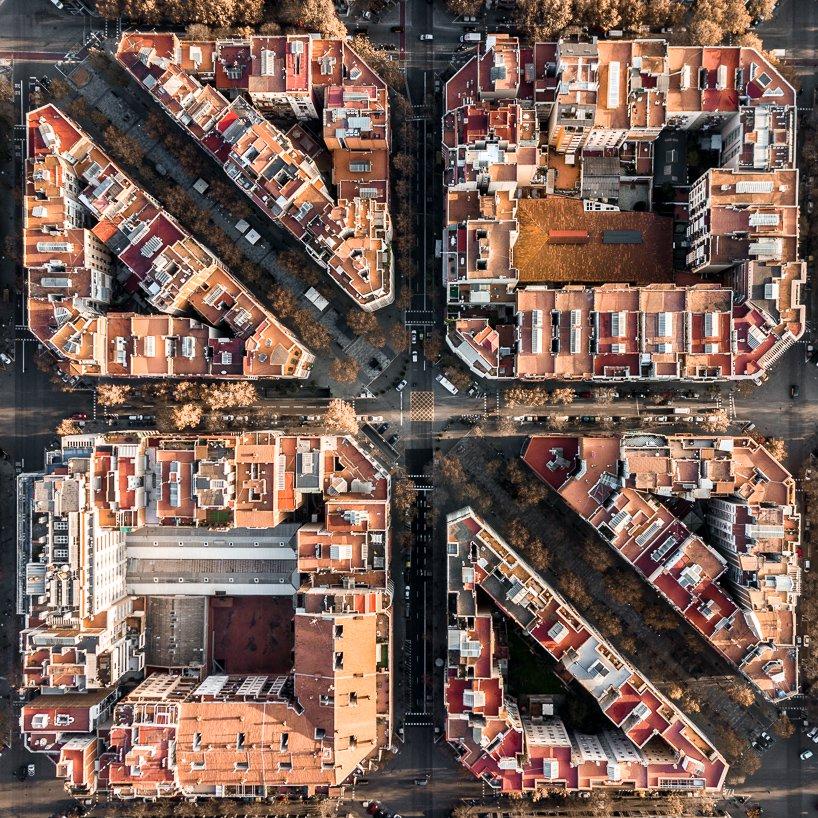 Impactantes fotos de Barcelona  from above Márton Mogyorósy (1)