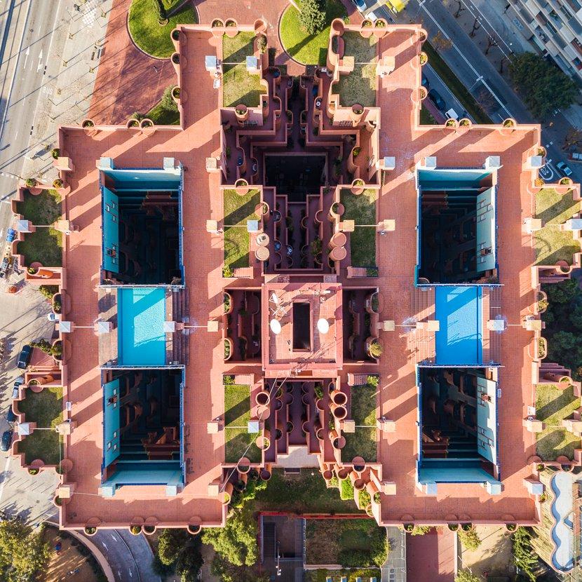 Impactantes fotos de Barcelona  from above Márton Mogyorósy (2)