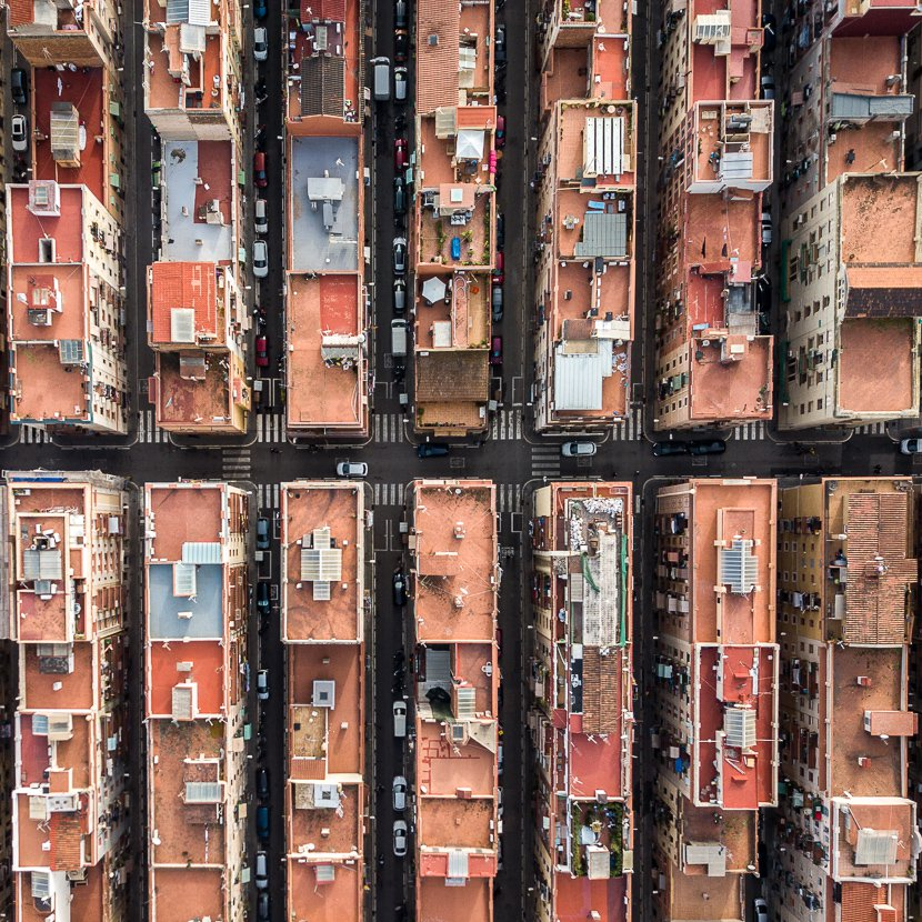 Impactantes fotos de Barcelona  from above Márton Mogyorósy (5)