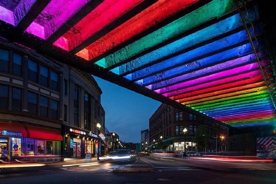 Instalación de luz para disminuir el delito en Massachusetts (2)