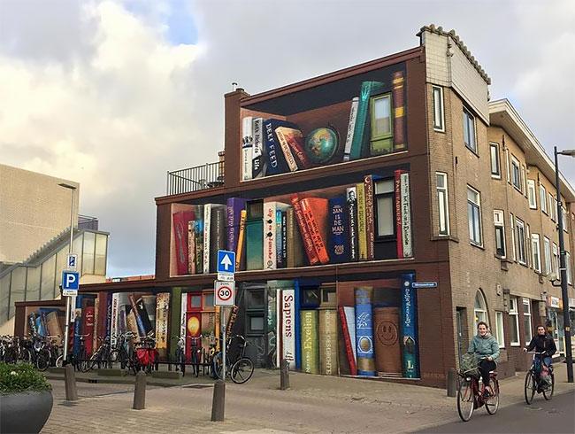 Jan Is De Man y Deef  Feed Tus libros favoritos en el frente de tu casa (1)