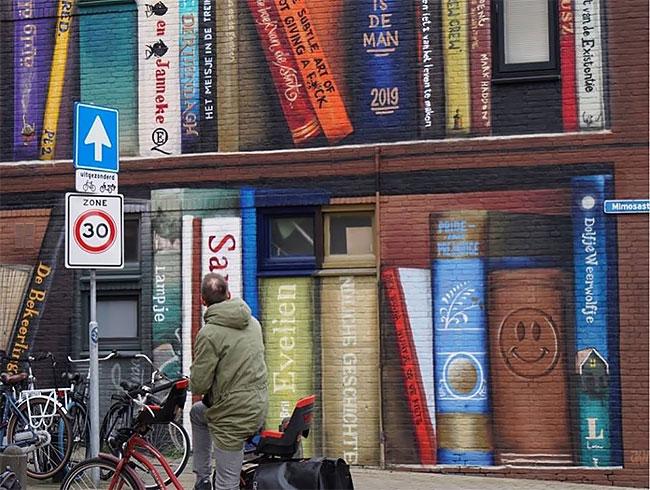 Jan Is De Man y Deef  Feed Tus libros favoritos en el frente de tu casa (3)