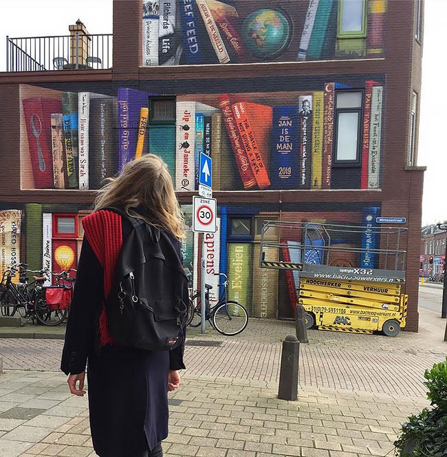Jan Is De Man y Deef  Feed Tus libros favoritos en el frente de tu casa (4)