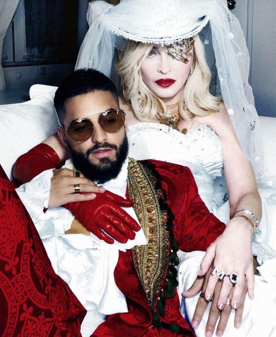 Madonna anticipa su nuevo álbum Madame X y lanza un tema junto a Maluma (1)