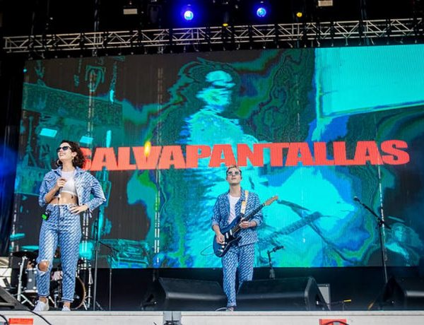 Salvapantallas en Lollapalooza (2)