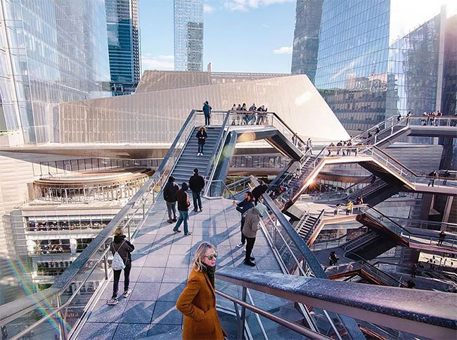 Vessel edificio Nueva York Hudson Yards loqueva