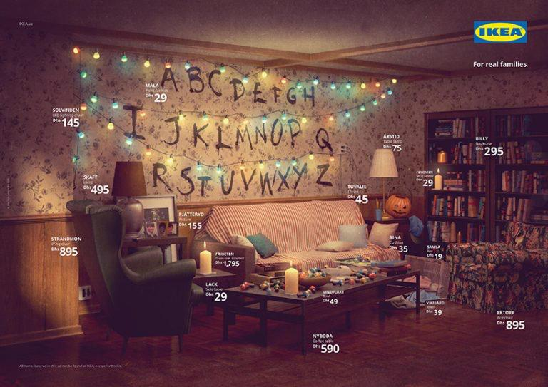IKEA livings simpson Stranger Things Friends loqueva (1)