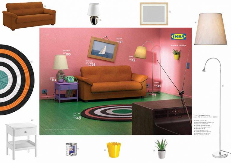IKEA livings simpson Stranger Things Friends loqueva (4)