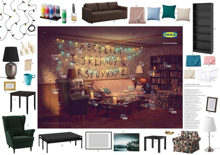 IKEA livings simpson Stranger Things Friends loqueva (6)