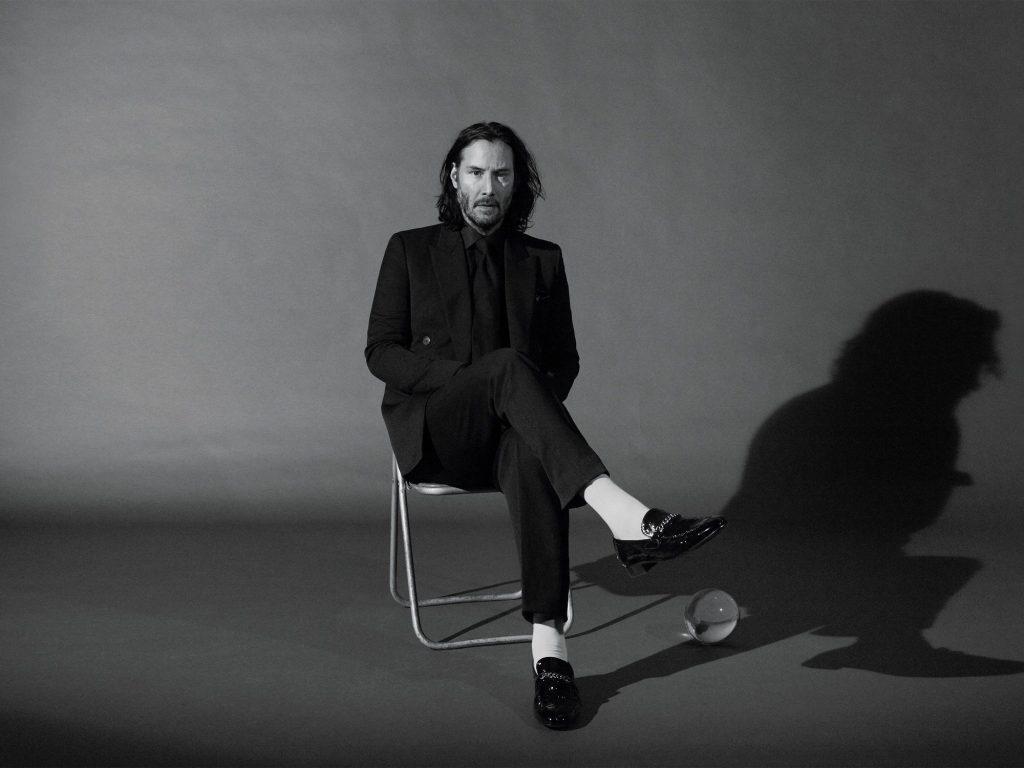 Keanu Reeves protagoniza la campaña de Saint Laurent (1)