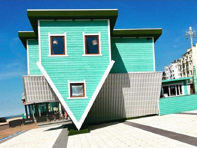 The Upside Down House brighton home