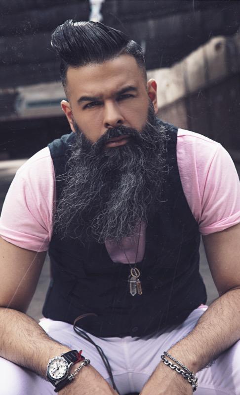 barberias buenos aires  Andrés Idarraga estilo Gipsy  (2)