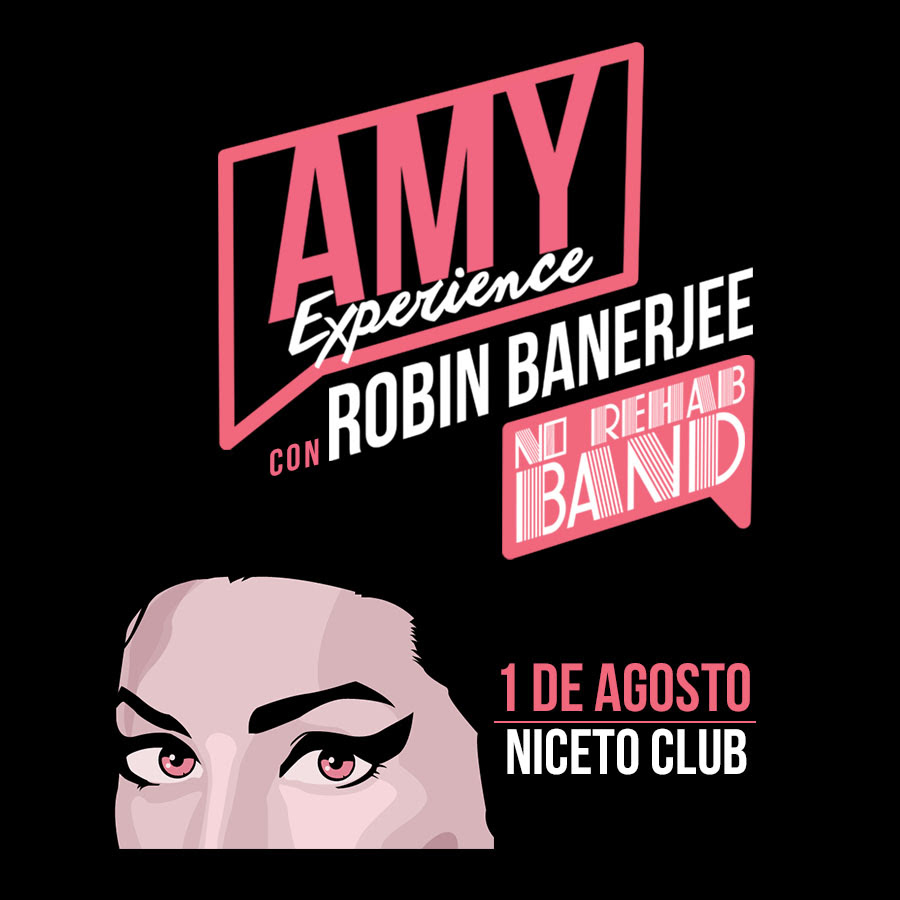 Amy Experience Robin Banerjee y No Rehab Band, parte de la banda original de Amy Winehouse