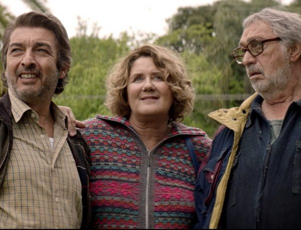 La odisea de los giles con Ricardo Darín, Luis Brandoni y el Chino Darín (2)