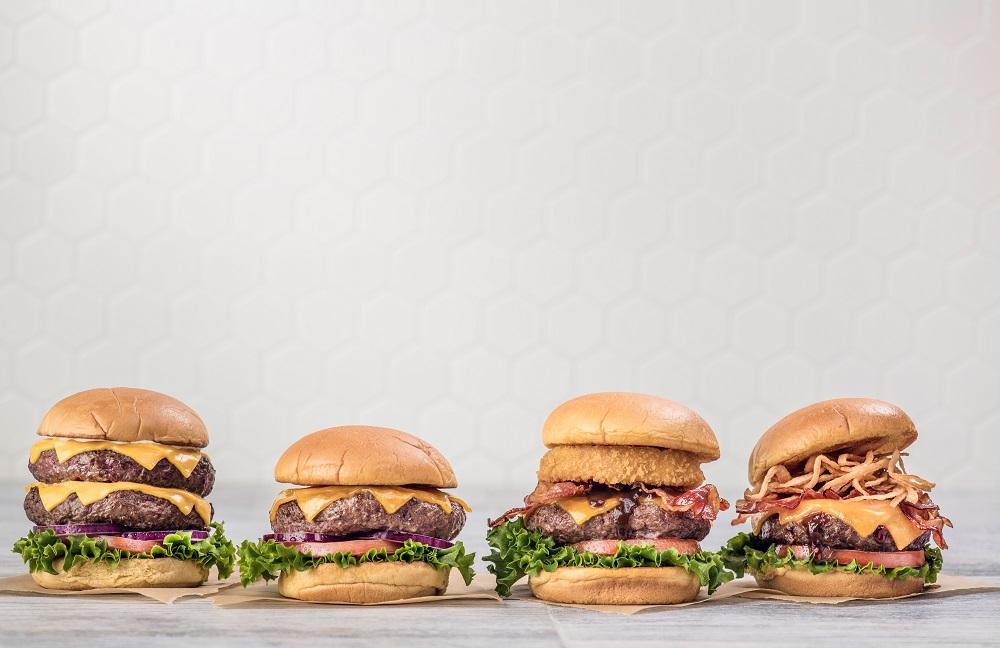 Legendary Steak Burgers - 4 Burger Line-up Hard Rock Café