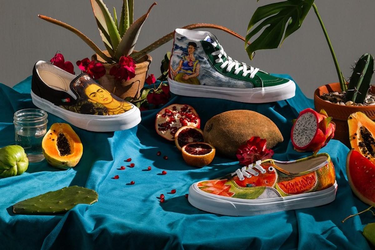 Vans lanza una colección tributo a Frida Kahlo (2)