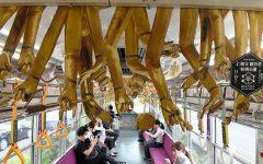 Kyoto tren decorado brazos Kannon (2)
