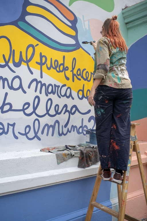 Mural Rosario - Anne Gabillot