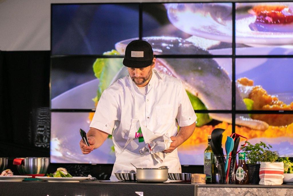 Clases de Cocina con Lisandro Ciarlotti