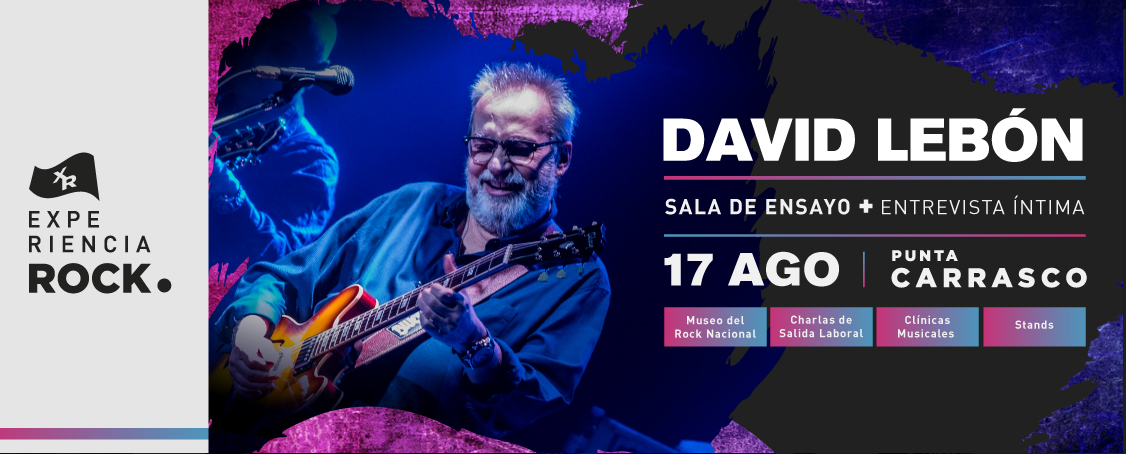 EXPERIENCIA ROCK PUNTA CARRASCO DAVID LEBON