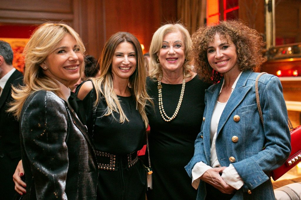 Grace Ratto, Julia Tonconogy, Elisa Faena y Natalia Lobo en la presentación de Faena Catering