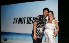 Juan Ignaramo y Violeta Urtizberea, su primera foto juntos embarazados