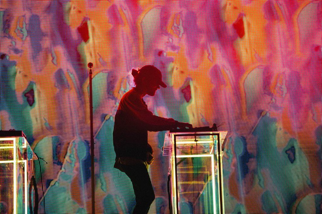 Madeon por Sydney Gawlik para Lollapalooza