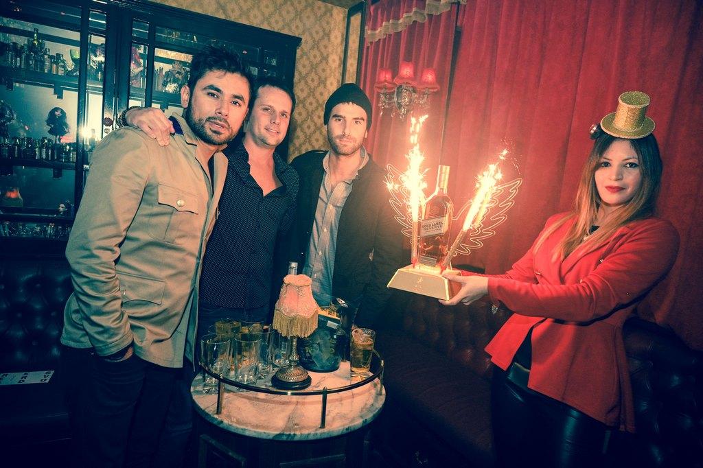 Nico Furtado y Daniel Pacheco disfrutaron de la espectacular fiesta que realizó Johnnie Walker Gold Reserve en Tequila