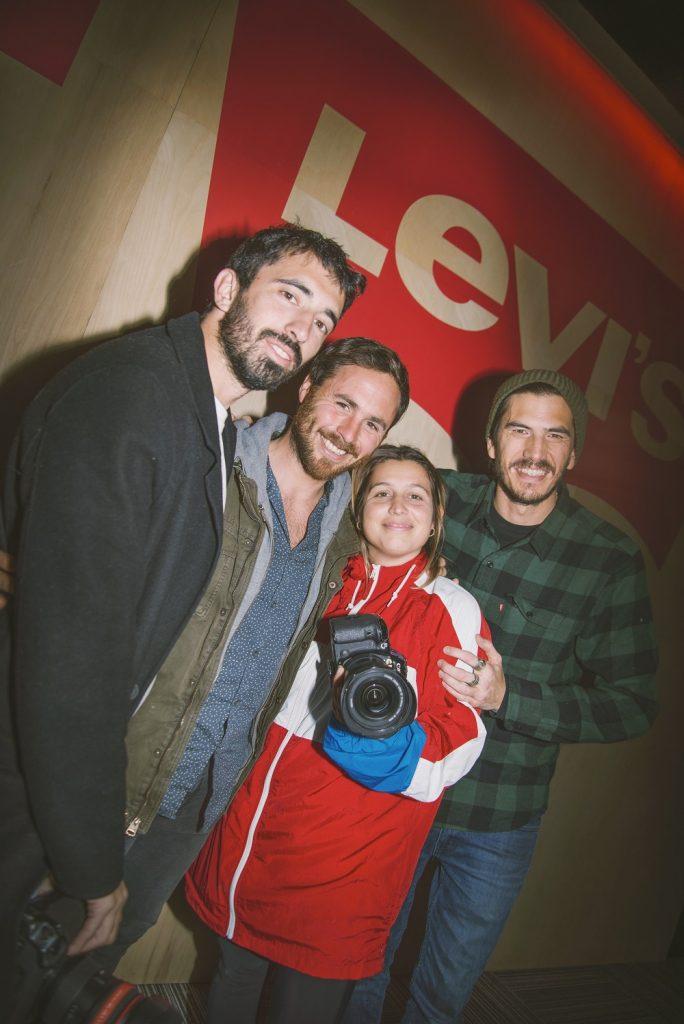 Clarita Cao, Juanchi Roisman, Panchi Grimaldi y Joaco Terán