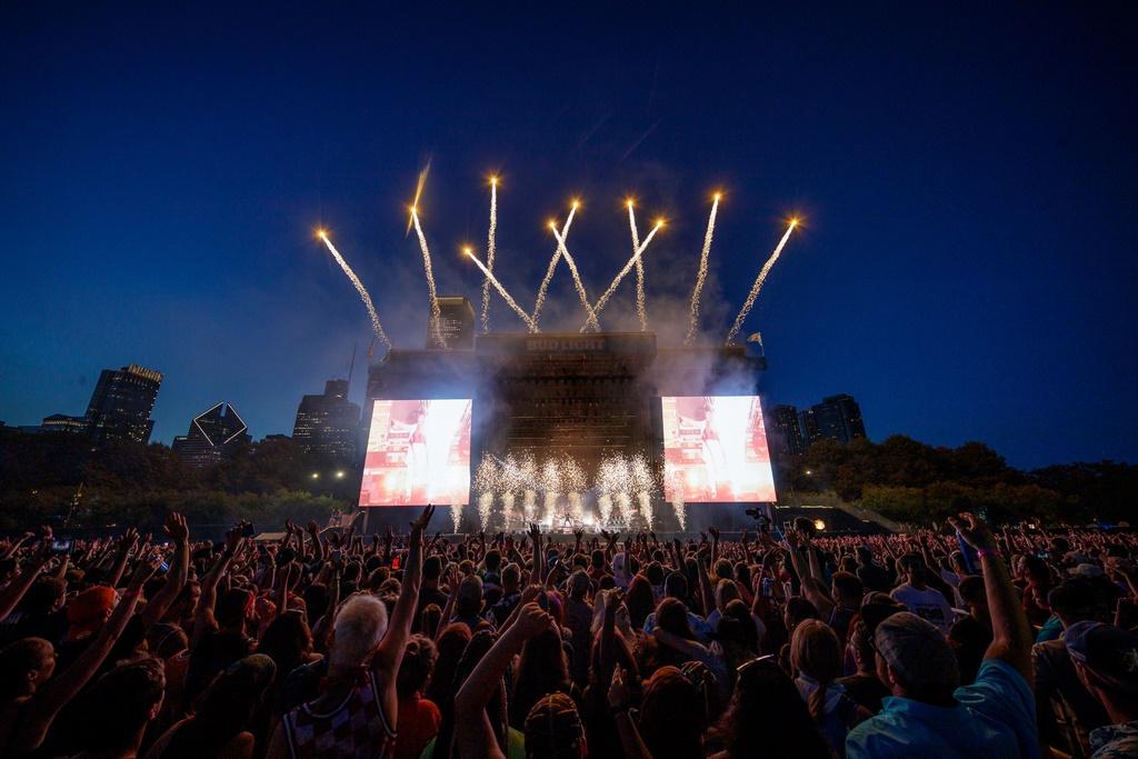The Chainsmokers por Shea Flynn para Lollapalooza