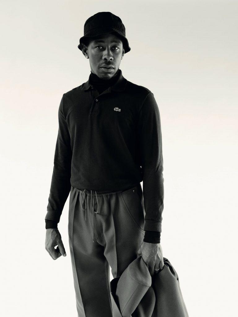 Tyler, The Creator y su colección con Lacoste en la portada de L'Officiel Hommes (1)